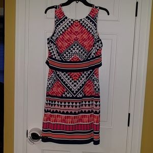 Geometric Design Vince Camuto Dress